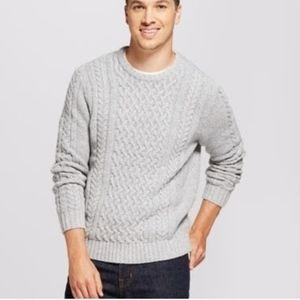 Goodfellow Men's Cable Crew Pullover Sweater